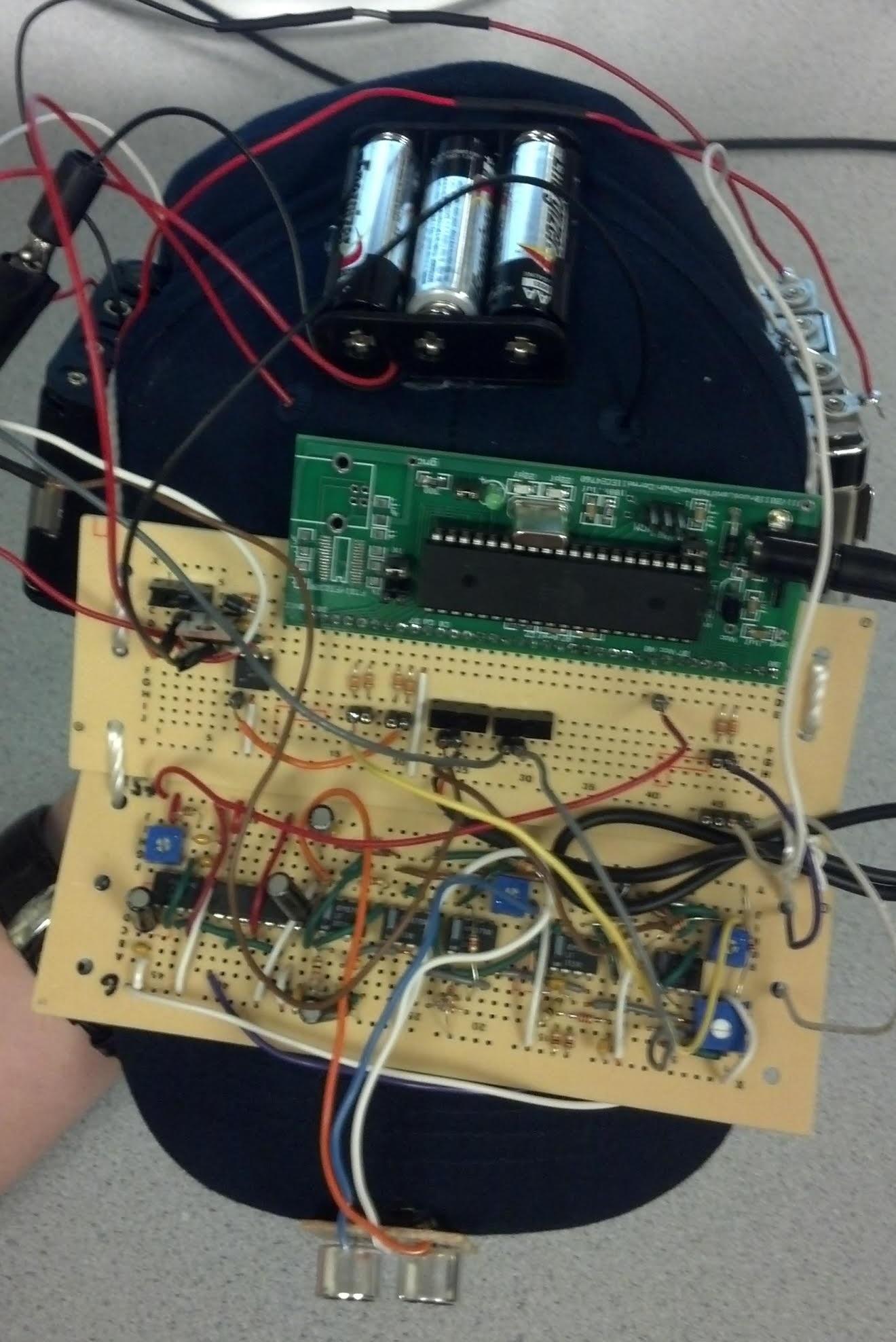 Ece 4760 The Bat Hat Detector Schematics Of Is Not Hardware Top