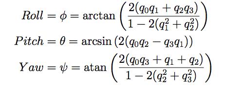 quarternion how to add angle