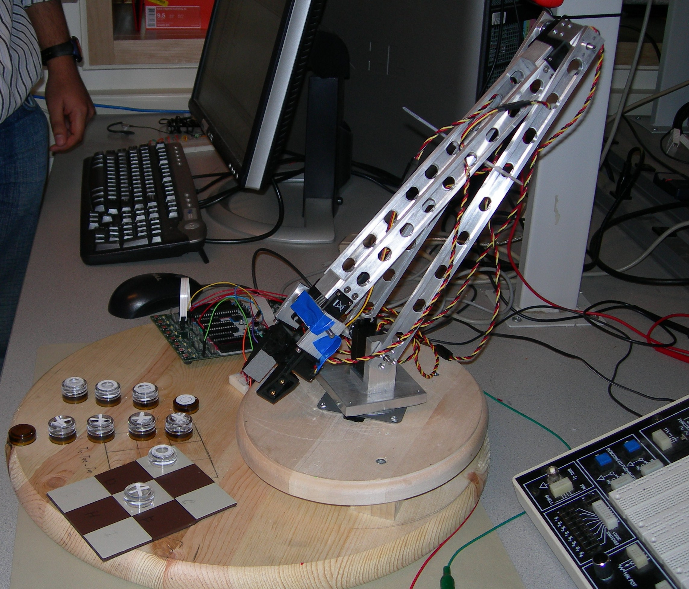 Controlled Robotic Arm
