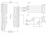 LCD and Camera Circuit Schematic