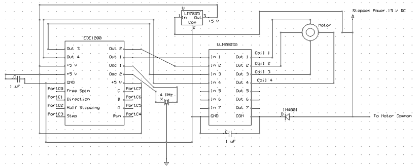 15V Step Motor