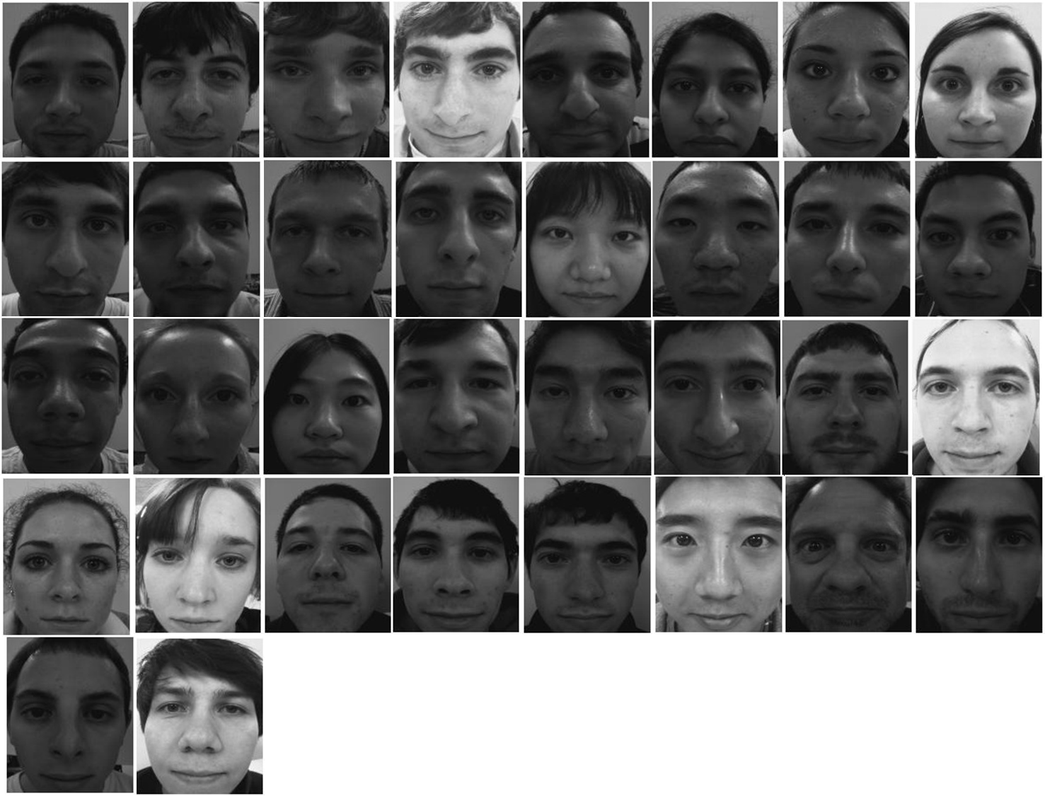 Facial recognition using AVR and eigenface ? | AVR Freaks