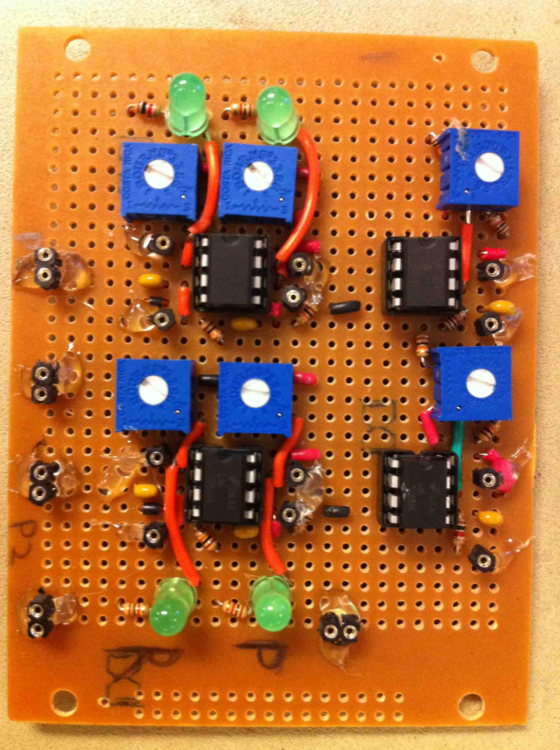 Rock Paper Scissors Sensor Gloves Symbols Finally Hook Up The Circuit On Board Baseboardfront