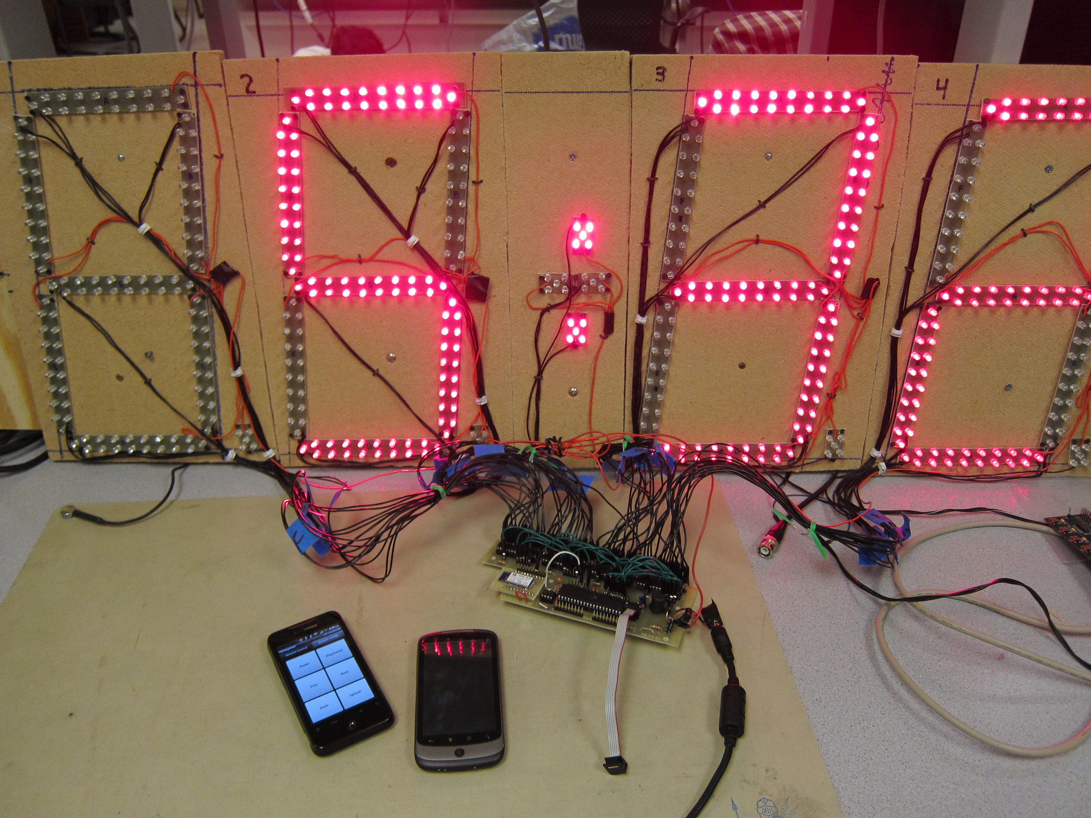 Ece 4760 Time System To Make A Long Duration Timer Circuit Electronic Projects Wireless Programmable Pace Clock