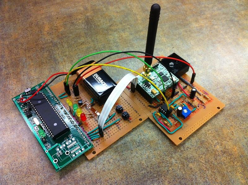 Wireless Human Health Online Monitor Cornell ECE 4760