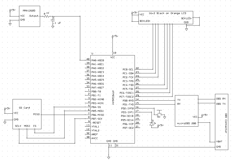 Obd2 Block Diagram Opinions About Wiring Ford Obd Ii Ece 4760 Trcrkx Data Logger Rh People Cornell Edu Focus 2014