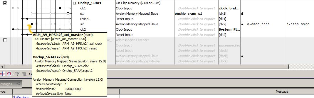 Memory on Cyclone5 FPGA | Hackaday io