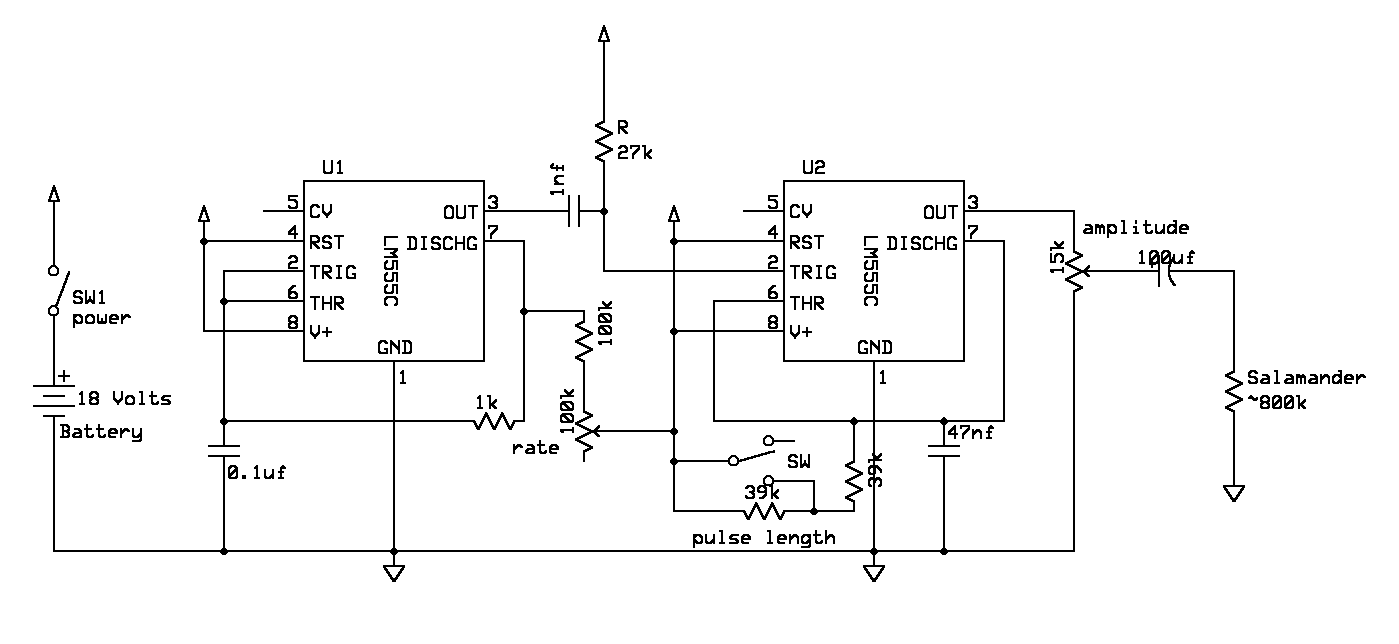 Transcut Generator Diagram The Complete Wiring Of Circuit Is Shown Below 555 Timers Are Actually 7555 Cmos Variants This Revision 2 1 Schematic Here