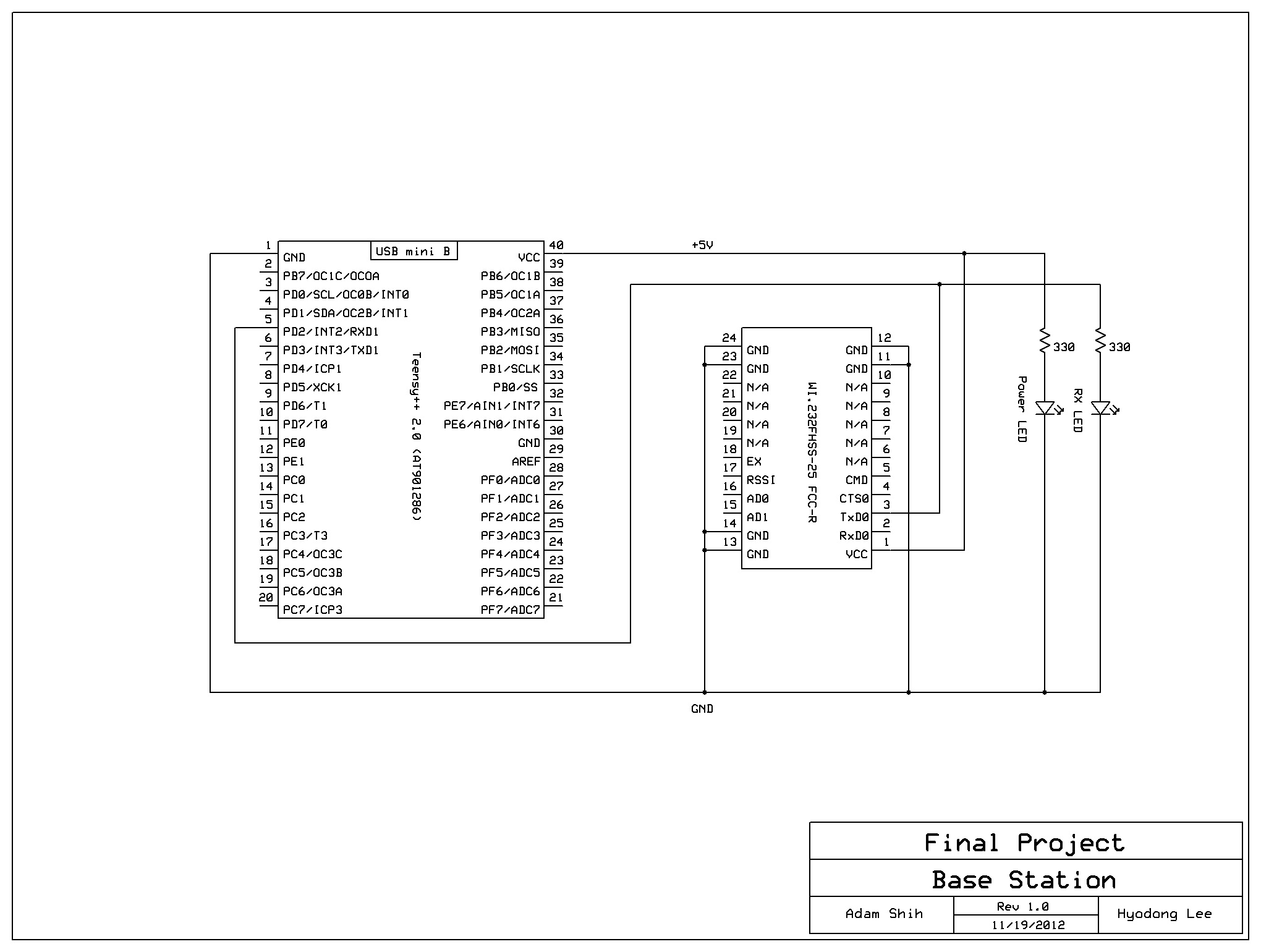 Glove Mouse Ece 4760 On The Block Diagram Right Click Physical Channel Constant And Base Station