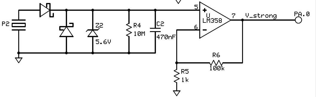 japanese drumming sensei Signal Conditioning Amplifier Circuit Diagram