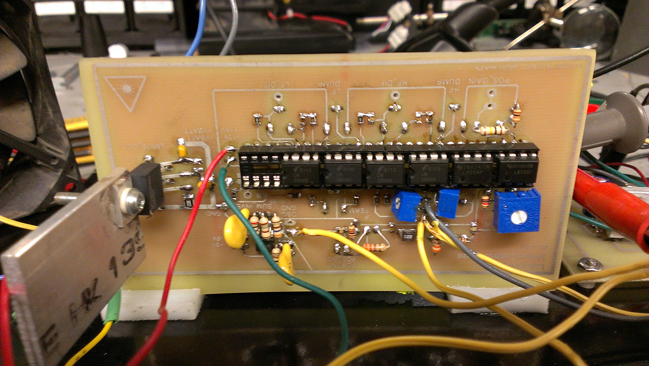 Ece 4760 Final Project Class B Wiring Diagram For Laser Board Front