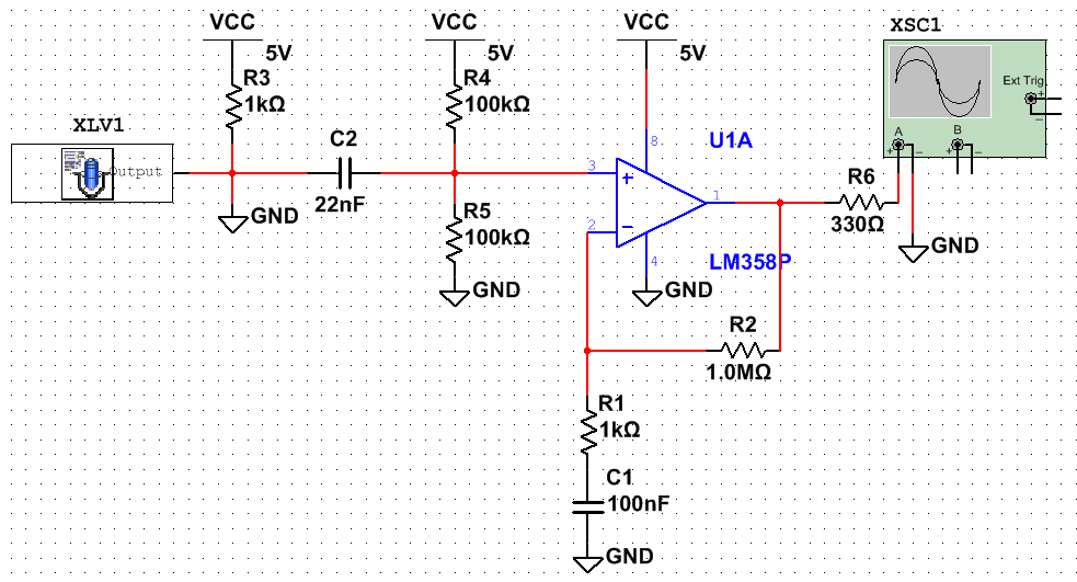 Circuitschematic on Power Supply Circuit Board Diagram