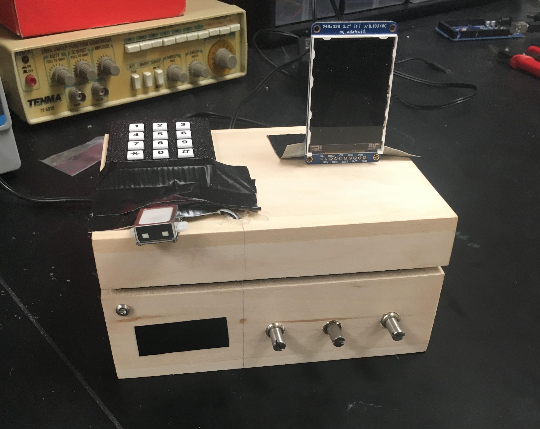 ECE 4760: Ultra-secure Programmable Lockbox