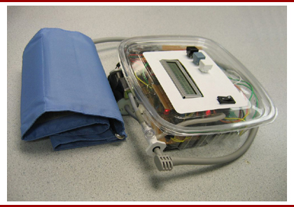 Portable Digital Blood Pressure Monitor