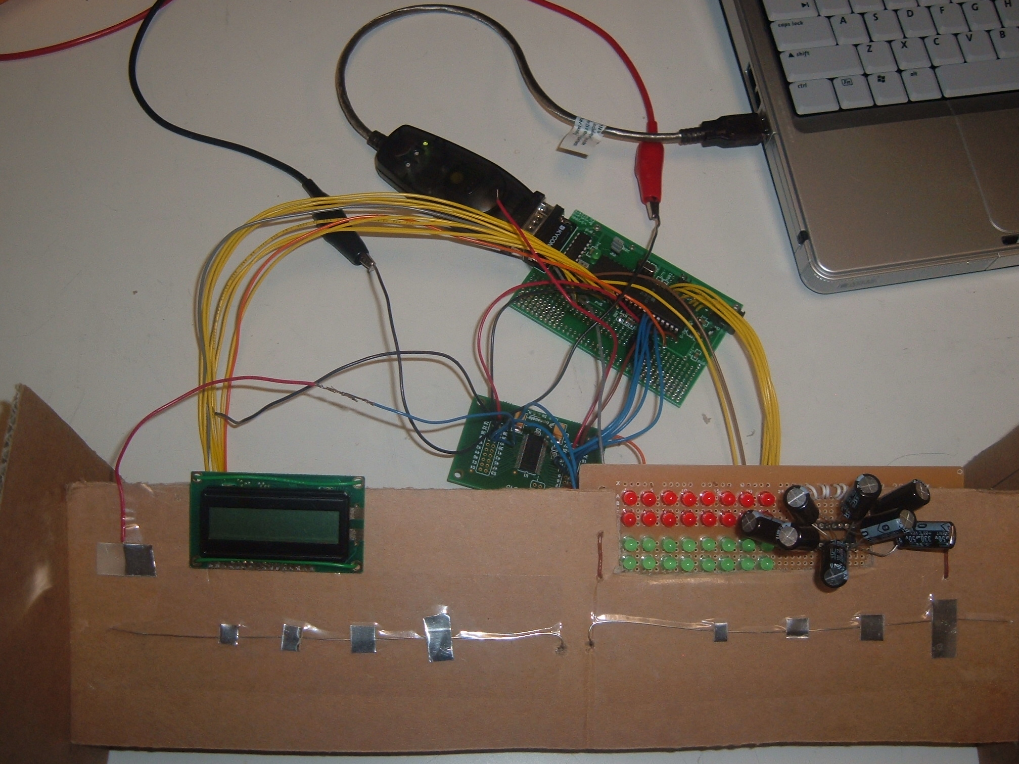 Ece 476 Final Project Siddharth Gauba And Byron Singh Midi Keyboard Wiring Diagram Capacitive Sensor Based With