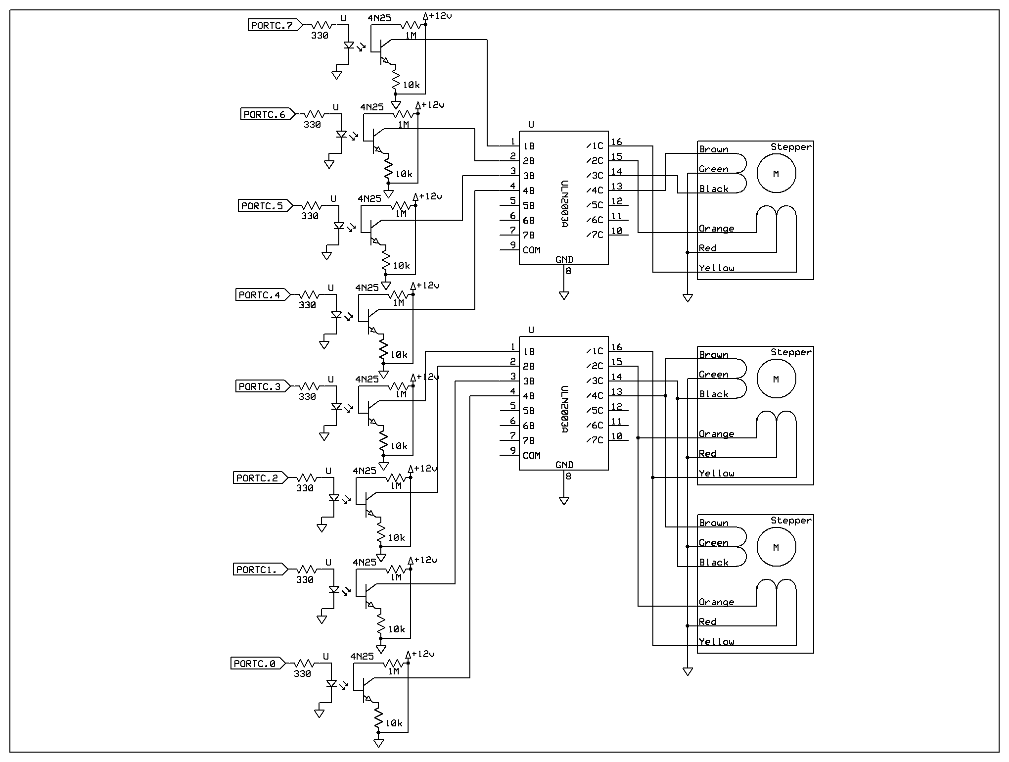 Ece4760 Self Adjusting Window Shade Photodiodecontrolledautomaticlightwithlm358 Motor Driver Schematic Full Size