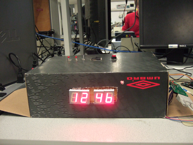 ECE 476 Spring 2010: Adapative Alarm Clock
