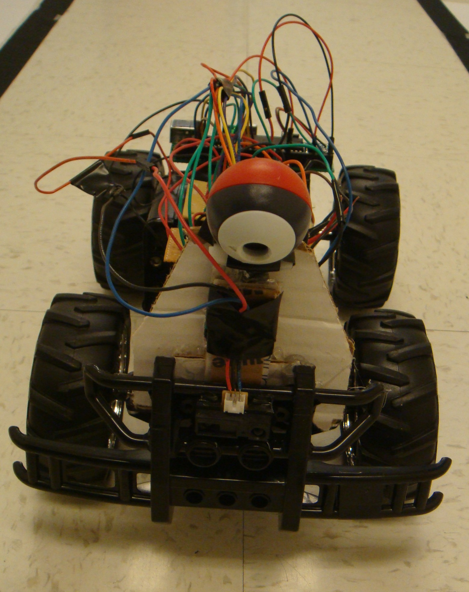 Ece 4760 The Autonomous Driving Car With Wireless Remote Control Circuit Diagram