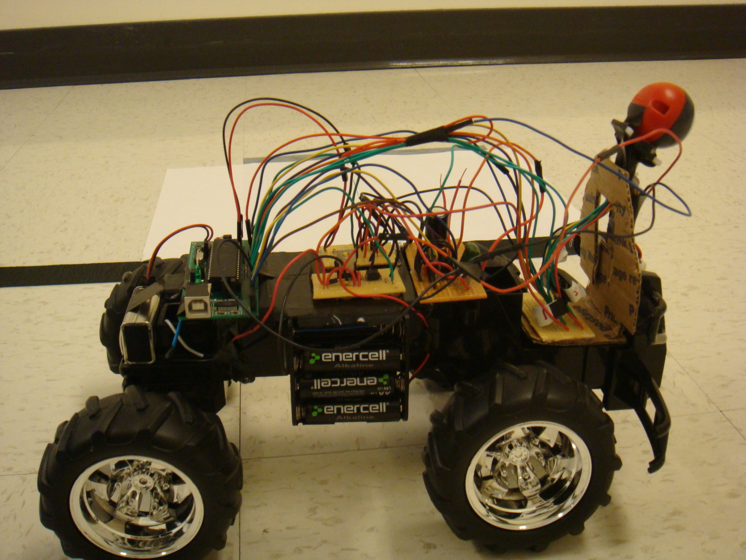 Ece 4760 The Autonomous Driving Car Electronics Engineering Mini Projects Ides For Students With Project Hardware Design