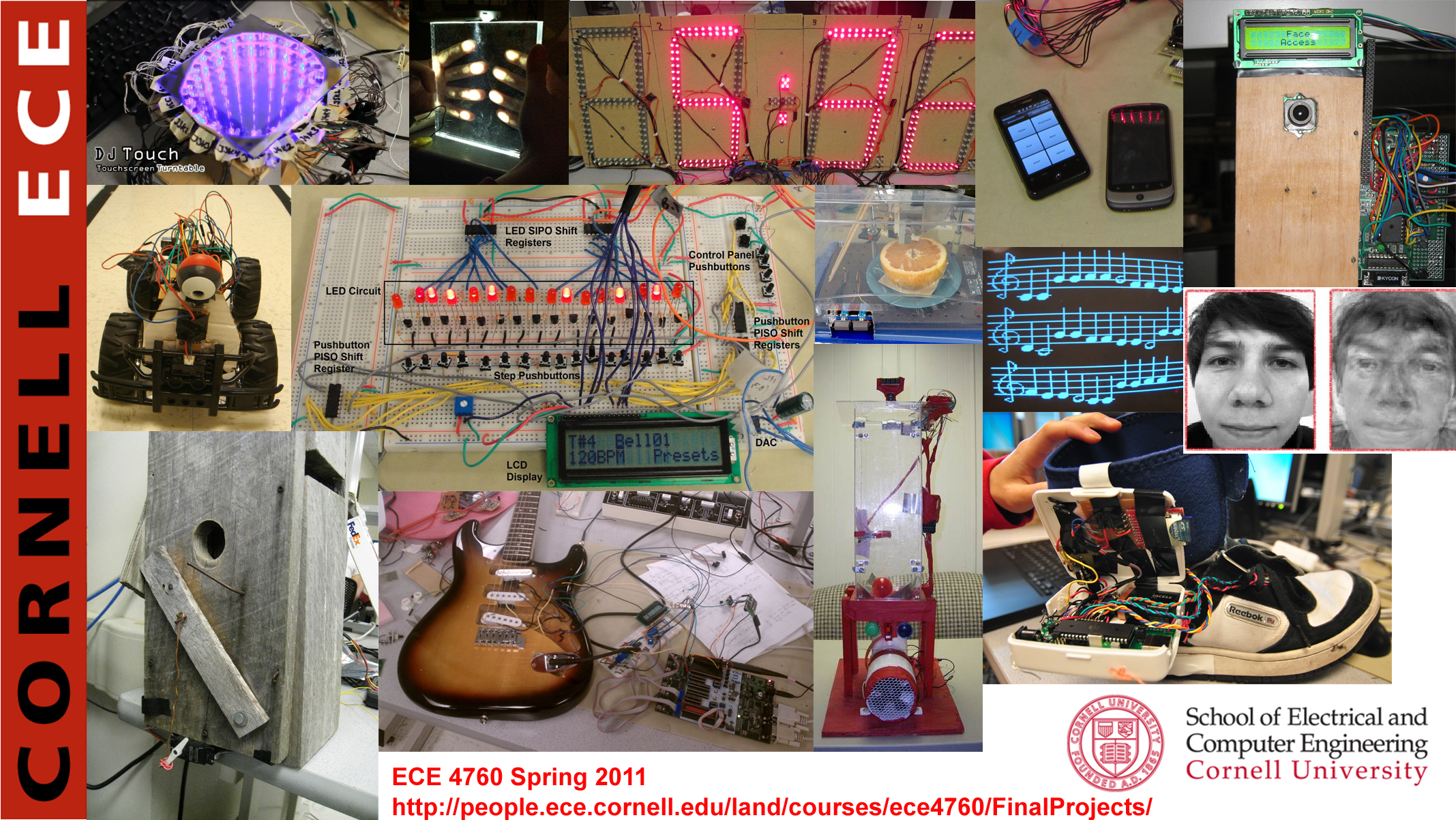 Final Projects Ece 4760 Digital Electronic With Circuit Spring 2011