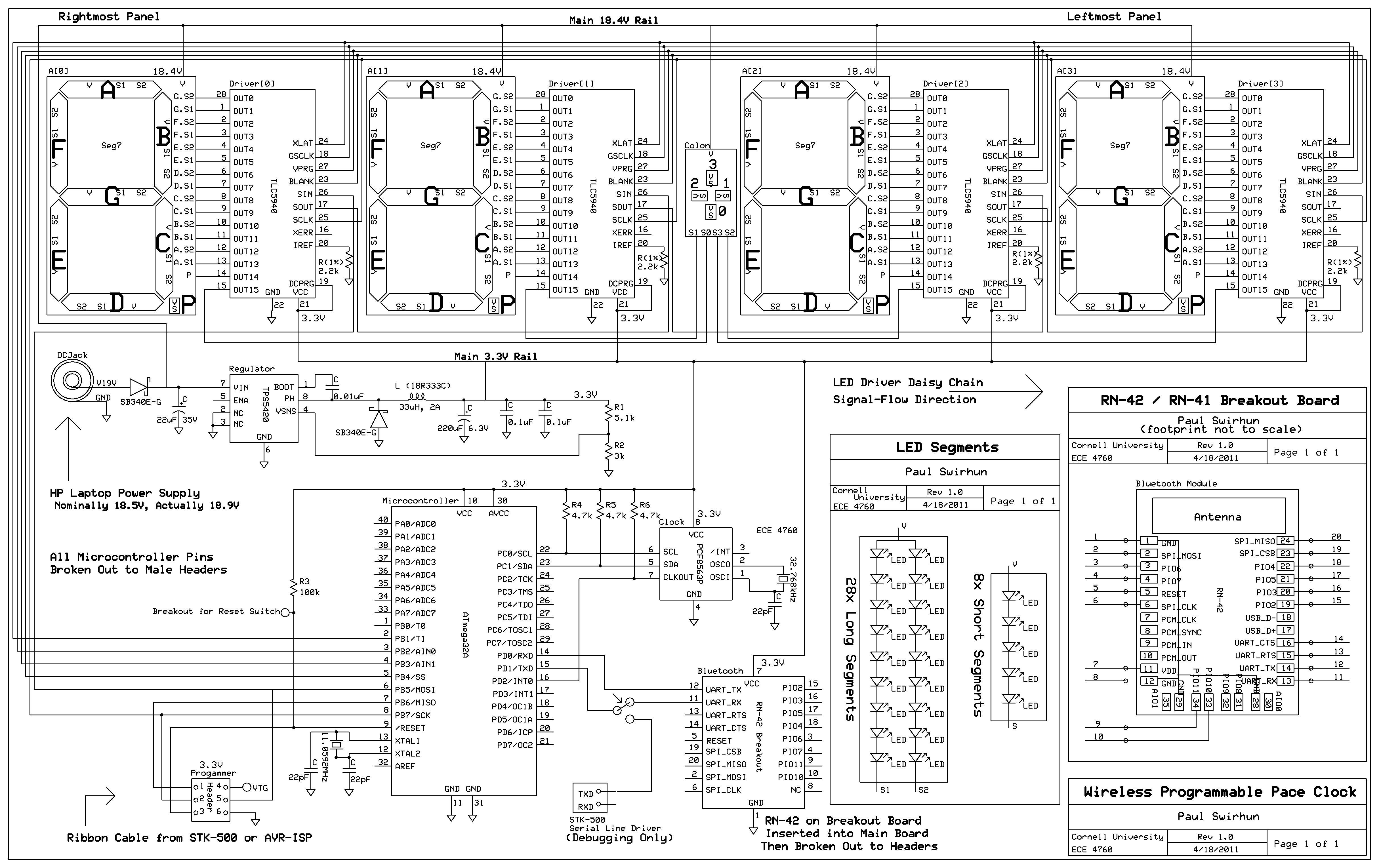 Ece 4760 Time System Schematics Depot Audio Sound Detector Latch Hardware Design
