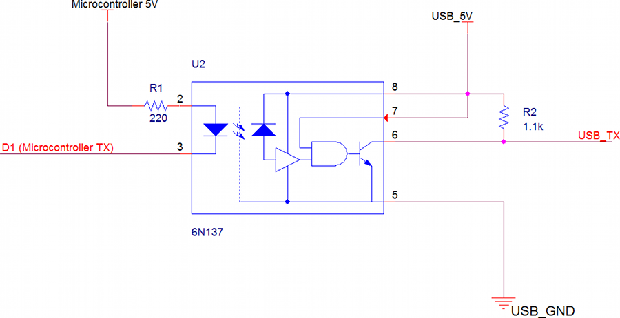 How To Simulate Bidirectional Opto Isolators In Proteus moreover Opto Isolated Converters also 2011 10 01 archive as well Arduino Input With Cny17 To Sense 12v Input moreover Raspberry Pi Project A 1960s Wallbox Interfaced With Sonos. on opto isolator circuit diagram