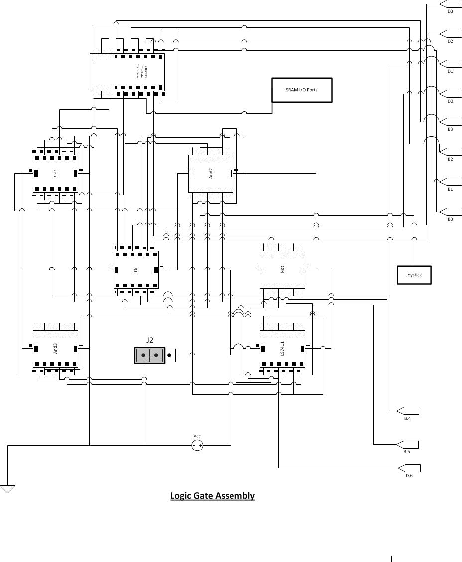 Homemade Vga Adapter Make Simple Logic Circuit Design Projects Overall Schematic Component