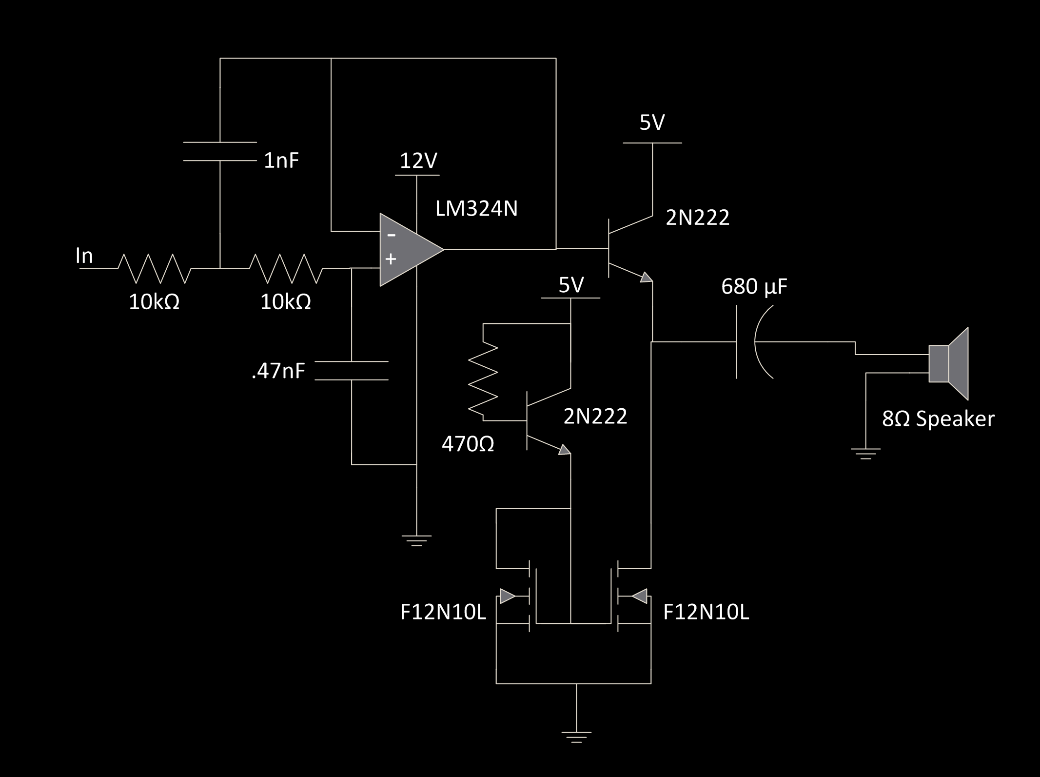 Ece 4760 Final Project Phased Array Speaker System Pulse Counter Switch Circuit Audiocircuit Diagram Although A Dac Can Produce Sine Wave By Producing The Analog Values There Is Still Quantization Noise Produced Since Output Of Not